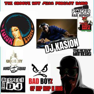 THE GROOVE HOT MIXX PODCAST RADIO DJ KASION WEST COAST HIP HOP SHOW
