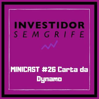 MINICAST #26 Carta da Dynamo