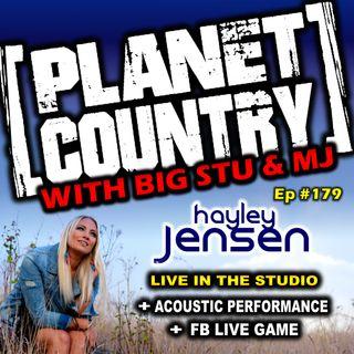 #179 - Haley Jensen Live in the studio