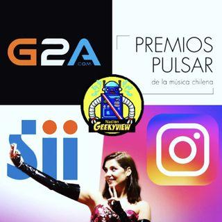 Premios Pulsar de la musica chilena, SII y los influencers y el problema de G2A - 14 de julio