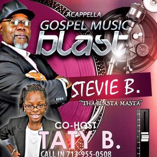 Stevie B's Acappella Gospel Music Blast - (Episode 69)