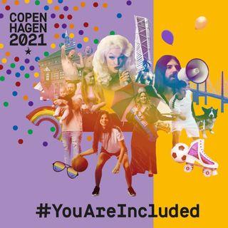 41. 'Reflecting on WorldPride at Copenhagen 2021' - Anna Tenfält, Lars Henriksen and Hadi Damien