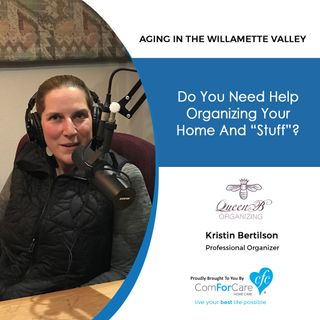 "3/13/18: Kristin Bertilson with Queen B Organizing | Do You Need Help Organizing Your Home And ""Stuff""? Tune in for help!"