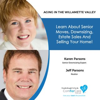 11/21/20: Karen and Jeff Parsons of the Parsons Home Team Realtors | SENIOR DOWNSIZING, ESTATE SALES, AND MOVING