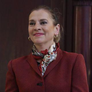 Beatriz Gutiérrez Muller, exhorto a la comunidad politécnica, transformar a México