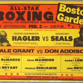Legends of Boxing Show:Olympic Gold Medalist Sugar Ray Seales
