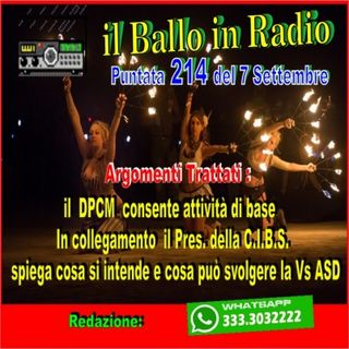 il ballo in radio di Tony Mantineo N° 214
