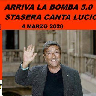 Arriva la Bomba 5.0 Stasera Canta Lucio