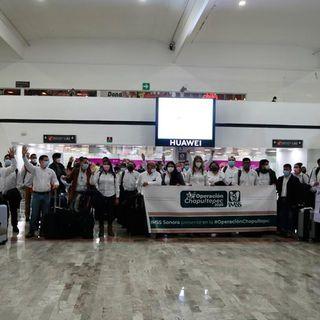 -Llegan de Sonora más de 40 médicos para apoyar a pacientes covid en CDMX