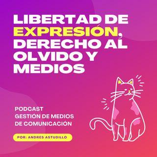 Libertad de expresión, derecho al olvido y medios de comunicación