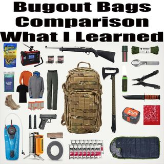 Bug-Out Bag Comparison - What I Learned About Mine - Episode 5