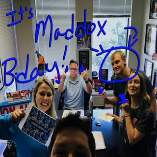 It's Maddox's birthday!