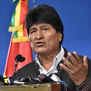 Se complica la crisis en Bolivia. Evo se fue para México.