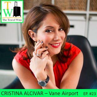 Cristina Alcivar - Airport Lifestyle
