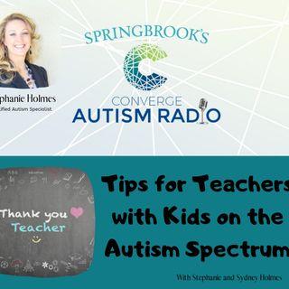 Tips for Teachers!