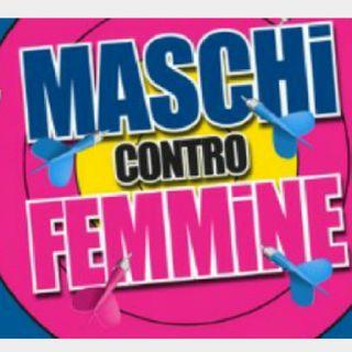 17. MASCHI VS FEMMINE