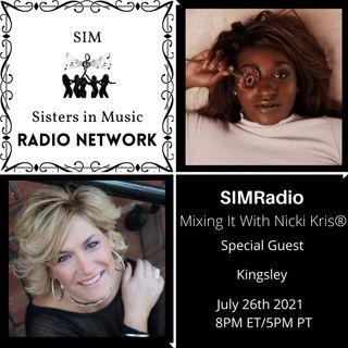 Mixing It with Nicki Kris - Recording Artist  - Kingsley