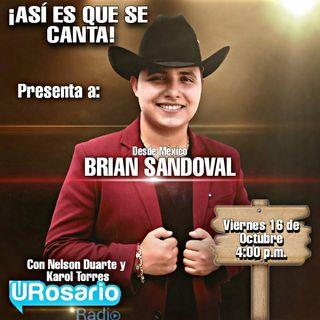 Desde México Brian Sandoval