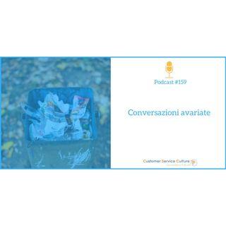 #159 Cosa stai facendo per non inquinare l'esperienza del cliente?