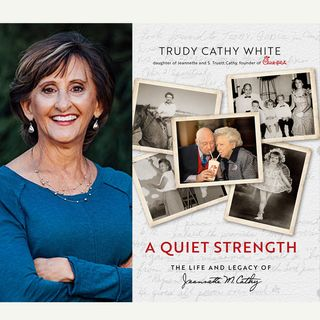 Trudy Cathy White - Author of A Quiet Strength: The Life and Legacy of Jeannette M. Cathy