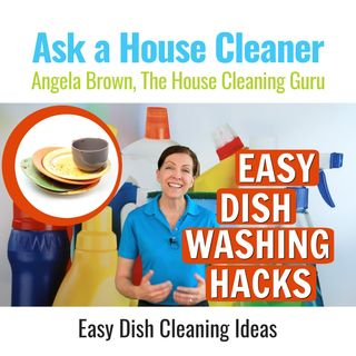 Easy Dish Cleaning Ideas When You Hate to Wash Dishes