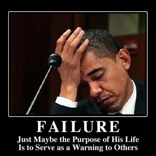 Listing the Obama failures and scandals