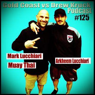 Mark Lucchiari – Arkheem Lucchiari – Muay Thai – Pre- Ozzy Toughman 2016 – #125