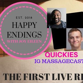 Happy Endings with Joy Eileen; Quickies Live Recording