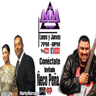El Cantautor Ñeco Peña en  THEMARKYMARCANOSHOW  Segmento Man Cave con Vitin Invitado Savio Vega