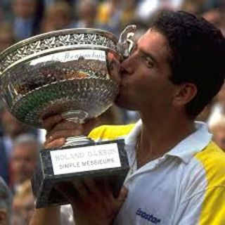 Andres Gómez, la leyenda viva del tenis ecuatoriano
