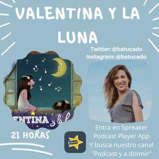 44. Valentina y la luna.  Yvette Delhom