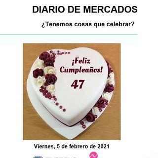 DIARIO DE MERCADOS Viernes 5 Febrero