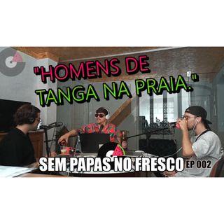 HOMENS DE TANGA NA PRAIA - 002
