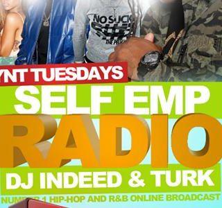 DJ INDEED & TURK LIVE YNTTUESDAYS - 9.10.2013