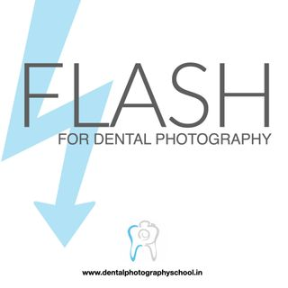 Flash for dental photography