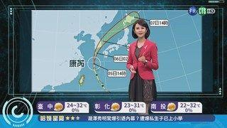 20:05 東北風報到 濕涼天氣持續到下週五 ( 2018-10-05 )