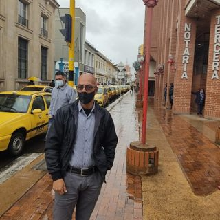 Alberto Lombana Gremio de Taxistas