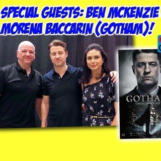 #298: Cincinnati Comic Expo Q&A with the stars of Gotham - Ben McKenzie & Morena Baccarin!