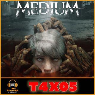 PP T4x05 THE MEDIUM sin spoilers, Análisis, Lanzamientos Febrero, Gamestop se pasa al digital, Stadia NO CIERRA y más...