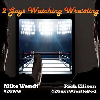 2 Guys Watching Wrestling