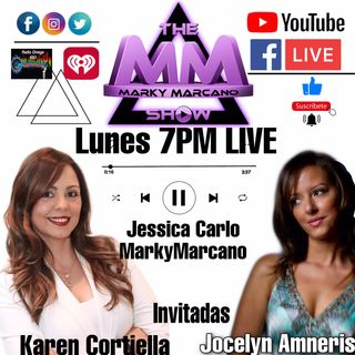 TONIGHT LIVE-ENTREVISTA CON KAREN CORTIELLA Y LA MUSICA DE JOCELYN AMNERIS -POWERED BY THEMMSTUDIOS