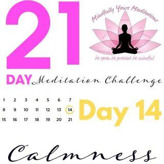 Day 14 - Calmness 21 Day Meditation Challenge