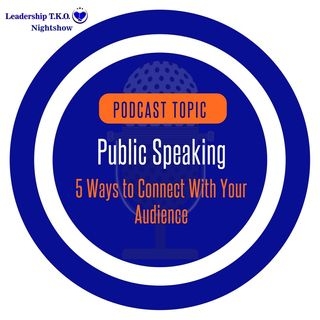 Public Speaking - 5 Ways to Connect With Your Audience | Lakeisha McKnight | Pro Speaking Thursday