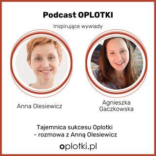 45_2020 Rozmowa z AnnąOlesiewicz o tajemnicy sukcesu Oplotki