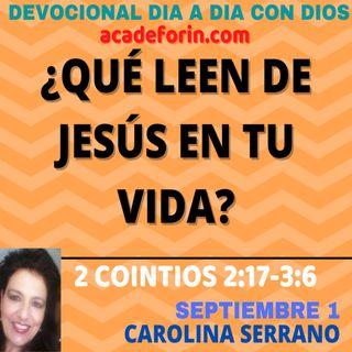 ¿QUÉ LEEN DE JESÚS EN TI?