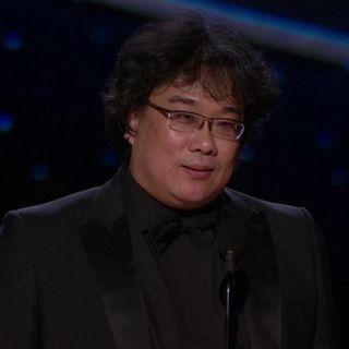 """Oscar 2020, Bong Joon-ho: """"Vorrei dividere il premio per 'Parasite' in 5 parti"""""""