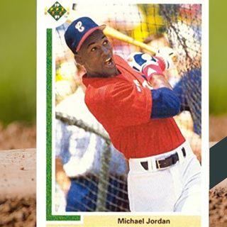 La primera tarjeta de béisbol de Michael Jordan (1991 Upper Deck)