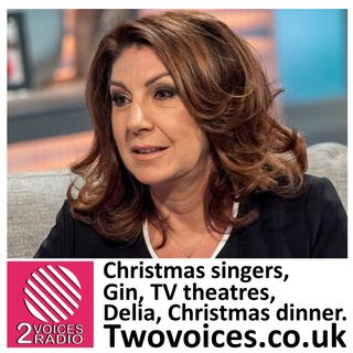 Xmas singers, stage entrances, tv theatres, presents, gin, Delia, Xmas dinner  EP 69