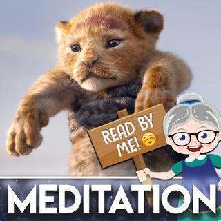 Lion King - Meditation