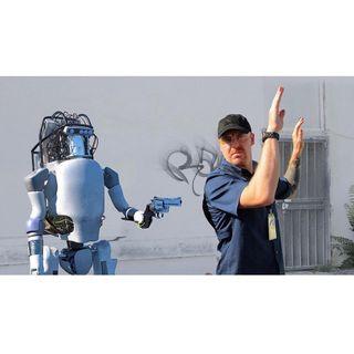 #napoli Vietato malmenare i robot!